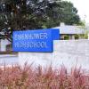 eisenhower high school, education signs, exterior signs oregon, exterior signs washington, school signage