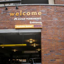 Hospital Parking Garag