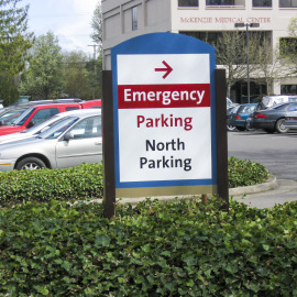 Hospital Wayfinding Signs