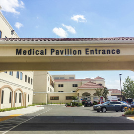 Medical Pavilion Entrance
