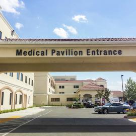 Medical Pavilion Entrance
