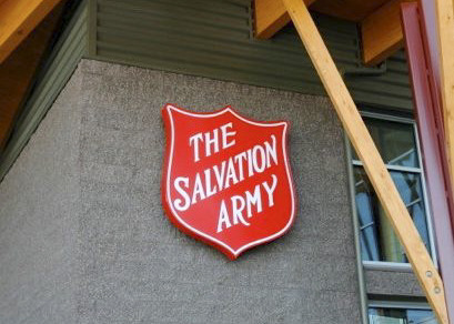 monument signs, salvation army, retail signage oregon, retail signage washington, sign business