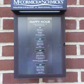 oregon restaurant, portland restaurant, exterior sign, architectural signs, oregon sign company