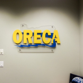 Industrial Signs, Portland Signs, Oregon Sign Company, Technology signs, Construction Portland