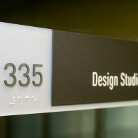 braille signs, interior signs, portland signs, portland sign company, portland education signs