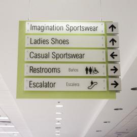 retail, retail signs, oregon shopping, portland shopping sign, beaverton sign company