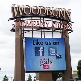 retail, retail signs, oregon shopping, portland shopping sign, beaverton sign company