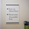 wayfinding, portland signs, government signs, oregon sign company, architectural signs