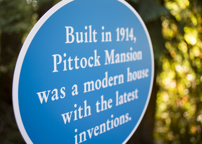 historical signs, museum signs, government signs, oregon sign company, architectural signs
