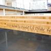 wood etching portland, wood etching oregon, education sign company, portland sign company, oregon sign company