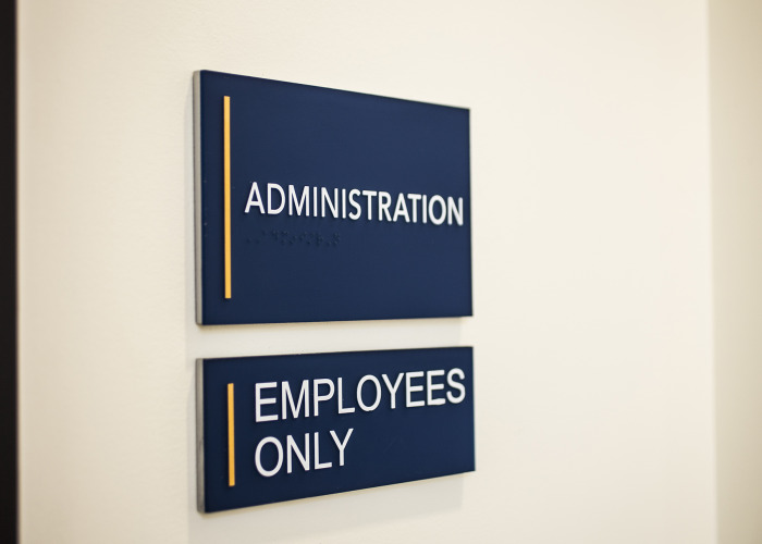 ADA signage, raster braille signs, photopolymer signs, beaverton sign company