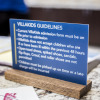 desk sign, beaverton signs, oregon signs, beaverton gym