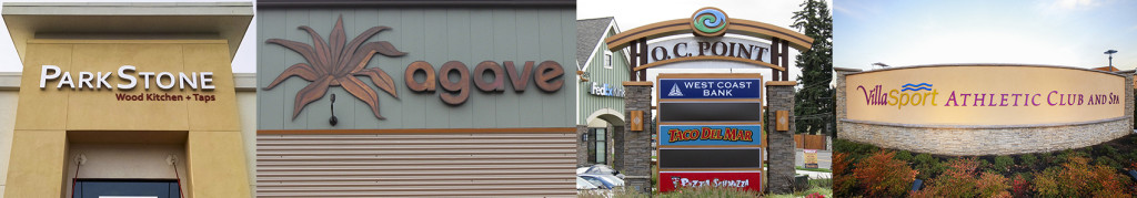 portland signs, portland architectural signs, portland oregon, sign company, oregon sign company